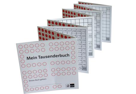 Lernen An Stationen Das Tausenderbuch Teil 1 Grundschul Blog
