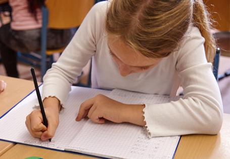 Grundschulbog Mathematik Zahlenbuch saubere Heftführung
