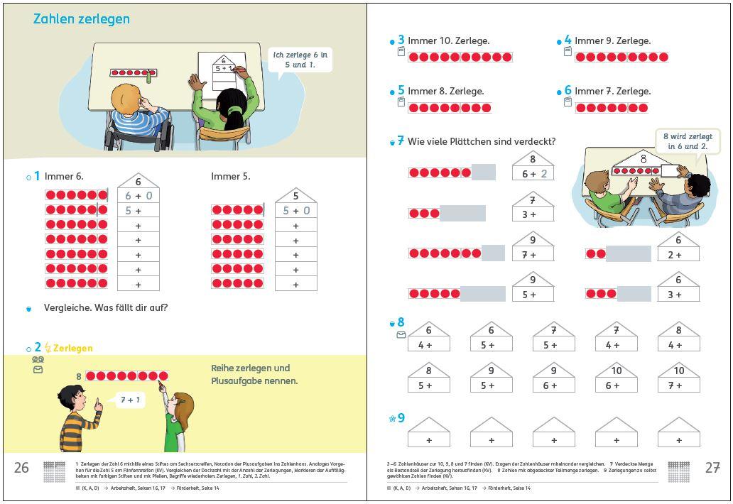 """Inklusiv Unterrichten mit dem neuen Zahlenbuch Teil 1: """"Zahlen zerlegen"""""""