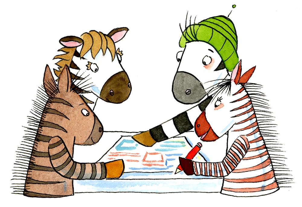 Klassenregeln grundschule bildkarten  Klassendienste besser organisieren mit den Zebra - Dienstekärtchen
