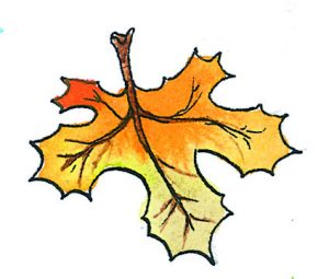 Basteltipp Fur Den Herbst Herbstlich Willkommen Kleiner Laubigel