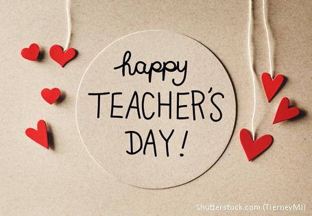 Der Grundschul-Blog wünscht allen LehrerInnen einen fröhlichen Weltlehrertag!