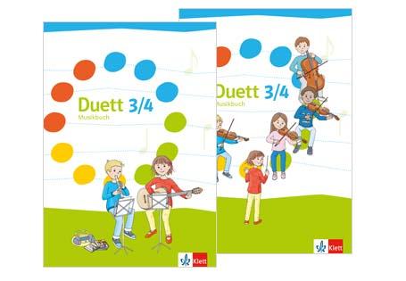 Duett Musikbuch 3/4