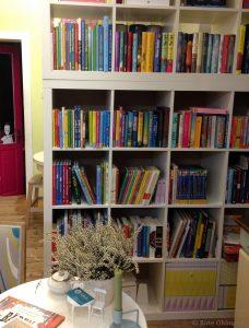 Buchrücken, Kinderbücher, Bücher für Erstleser; © Birte Ohlmann