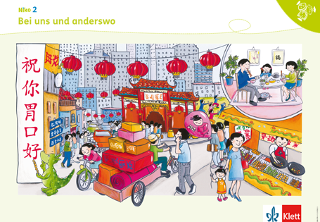 Sprachsensibel unterrichten mit den Niko Postern Poster 6 Bei uns und anderswo