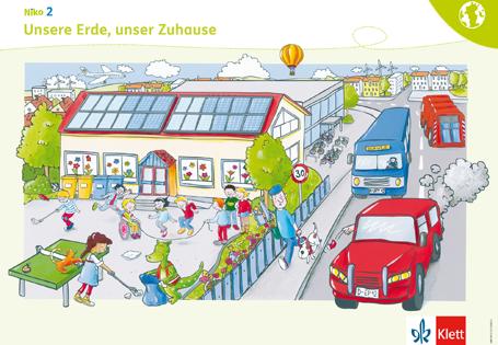 Sprachsensibel unterrichten mit den Niko Postern Poster 7 Unsere Erde, unser Zuhause