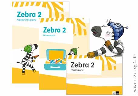 Zebra Materialien Klasse 2