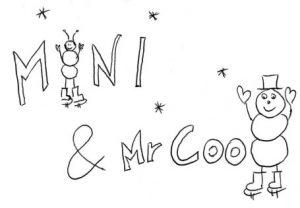 Eine coole Winterstory als pocket book: Mini & Mr Cool