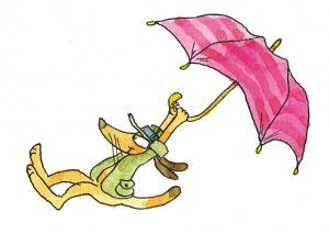 Sachunterricht Hugo Regenschirm