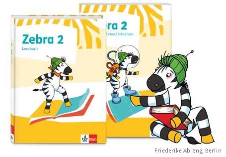 Zebra Lesebuch, Lesen/Schreiben