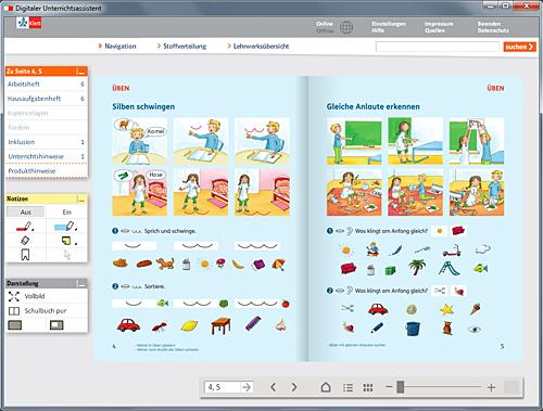 Abb. : Beispiel aus Digitaler Unterrichtsassistent Piri 1