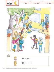 Bücherwurm Fibel, Seite 10