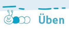 Bsp.: Bücherwurm Fibel, blaue Üben-Seiten