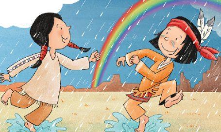 Mein Indianerheft Wetter und Wasser