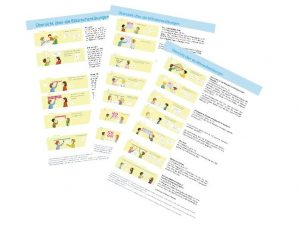 Übersicht über die Blitzrechen-Übungen von Klasse 1 bis 3
