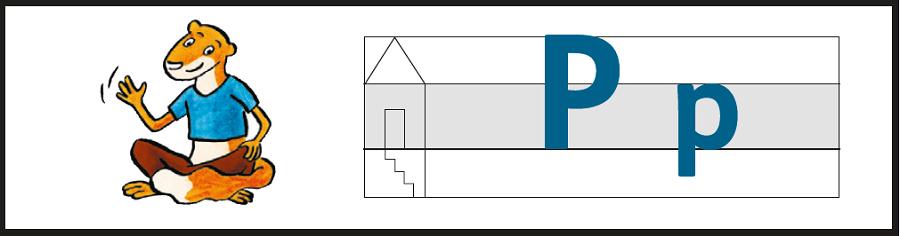 Varianten der Piri Schreibtabelle: Lineatur und Buchstabenhäuschen