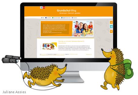 Umzug Zahlenbuchfanclub in Grundschul-Blog