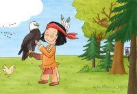 Mein Indianerheft Vögel