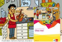 Chez moi Seite 02/03, Wimmelbild, Illustration: Adrienne Barman, Grandson