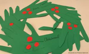 Bastelidee zur Weihnachtszeit: Christmas wreath