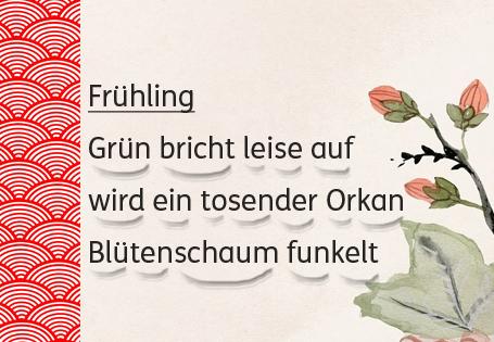 Haiku Frühling