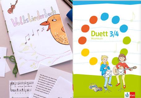 Duett Liederbuch basteln