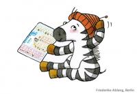 Zebra Schreibtabelle 2018