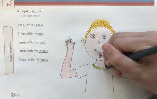 Read and draw Einsatz im Unterricht