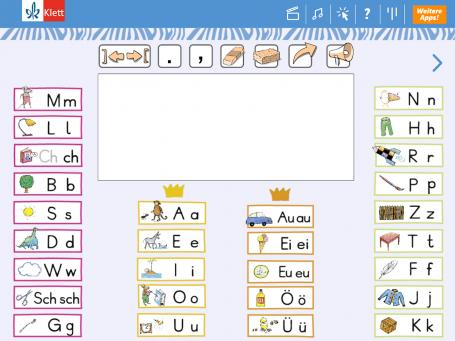 Zebra App Schreibtabelle Screenshot