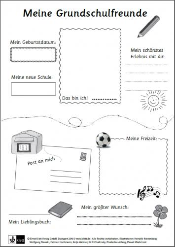 Mein Das Bin Ich Lapbook Lapbook Vorlagen 7